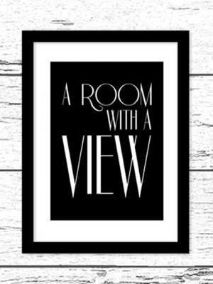 Poster A room with a View