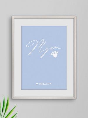 Poster Mjau