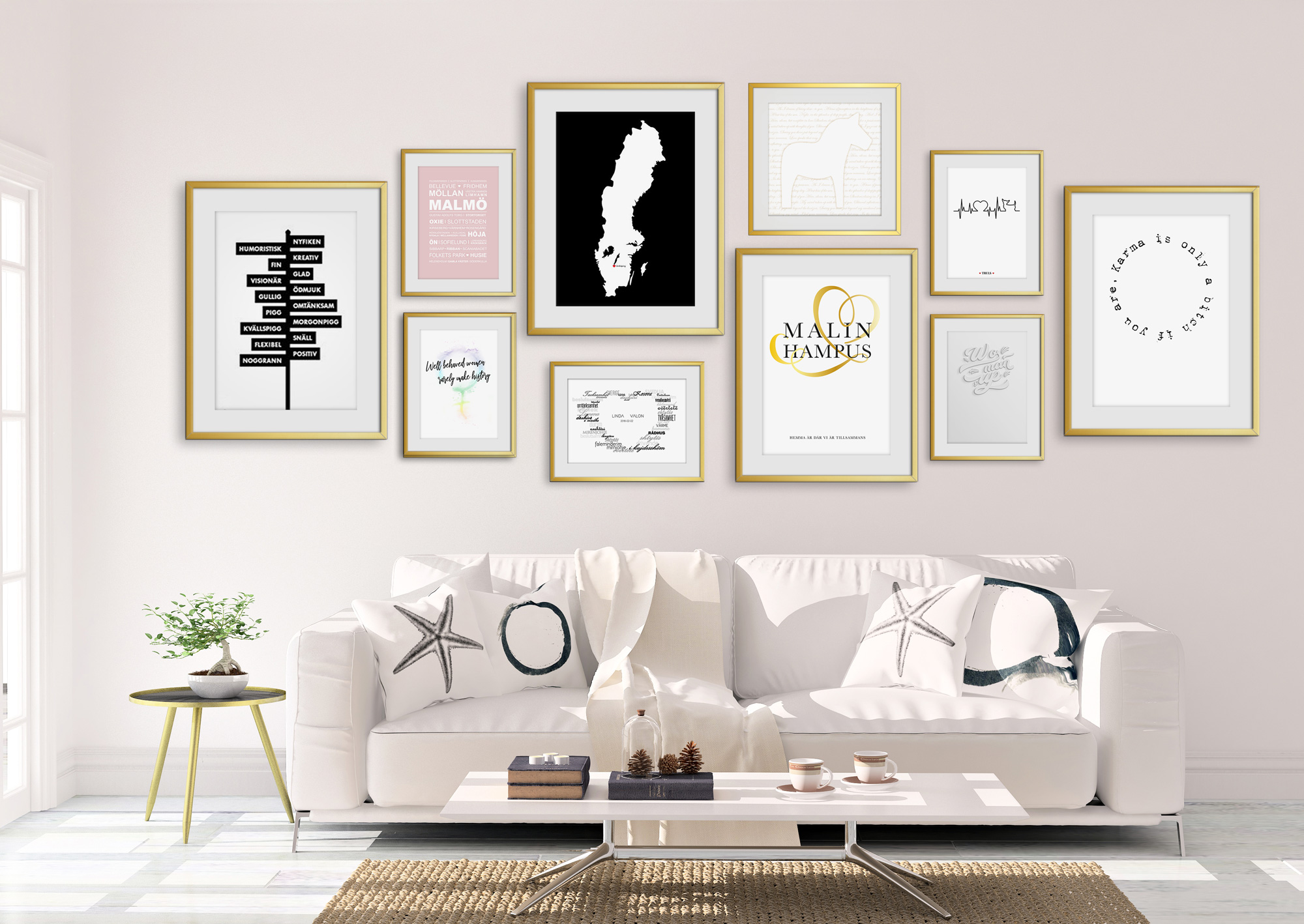 Personliga Presenter Posters