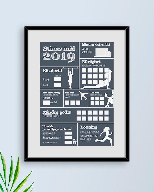 Poster Årets mål